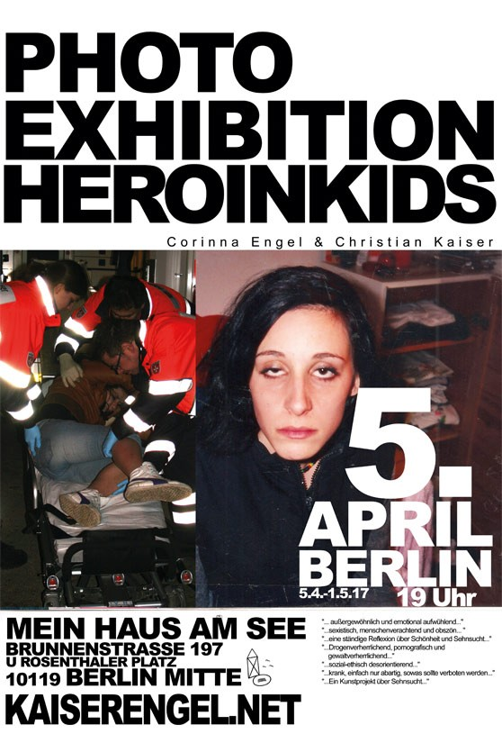 Vernissage HEROINKIDS