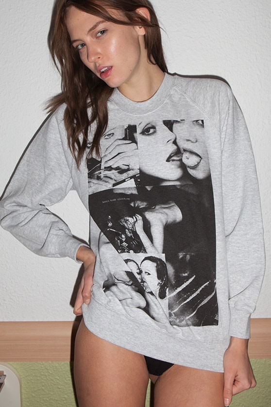 COCAINECHIC Woman Sweatshirt by HEROIN KIDS