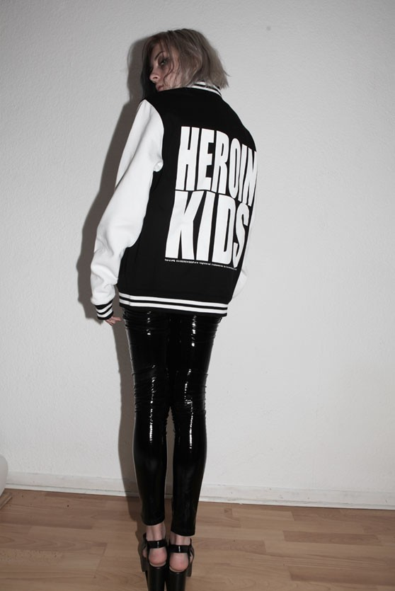 Baseball Jacket HeroinKids women
