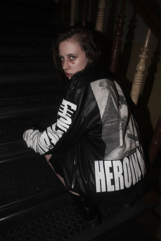 HEROINKIDS -jacket