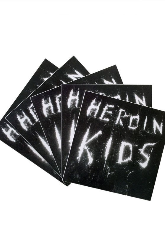 COCAINE Brand Sticker by HEROIN KIDS