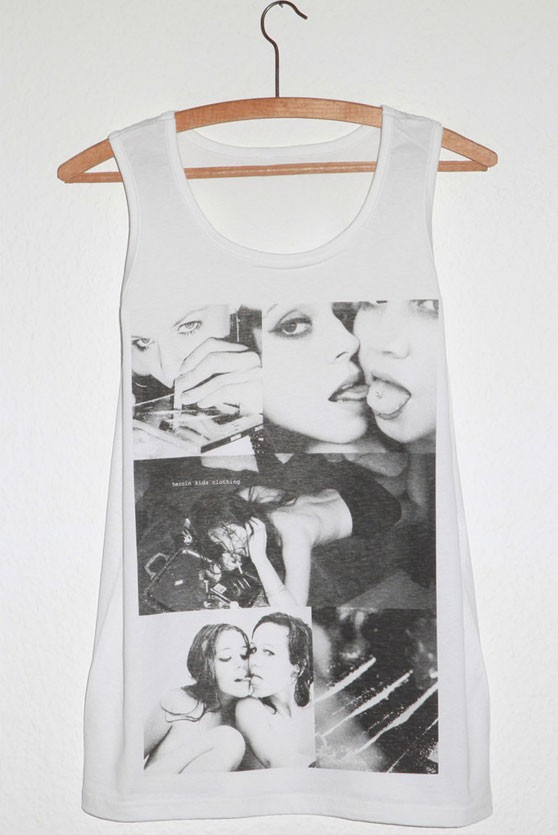 Cocaine Chic Dope Fashion HEROINKIDS TANK TOP for Women