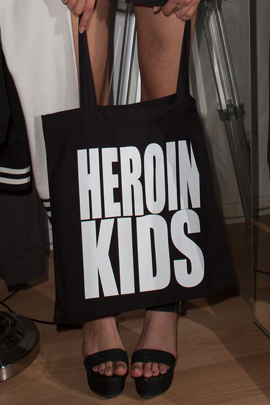 HEROINKIDS Classic Logo Bag
