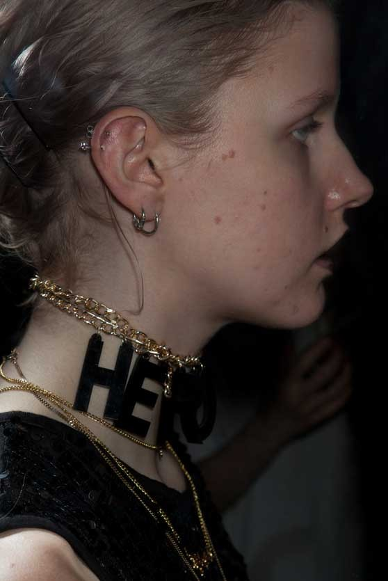 HeroinKids Necklace by Heroin® Jewelry inspired by 90s Grunge Style, illegal Rave Partys and Berlins Latex, Bdsm club scene
